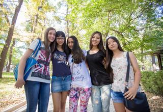 Teenage girls in Kyrgyzstan, UNFPA
